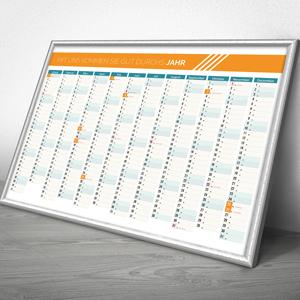 Kalender und Poster
